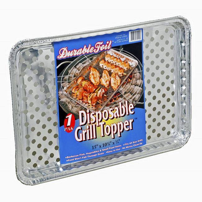 25982-GRILL TOPPER DISPOSABLE W/ LABEL