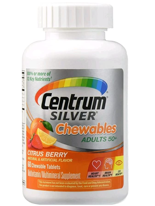 446119-CENTRUM SILVER  ADULTS 50+ CITRUS BERRY 60 CHEW