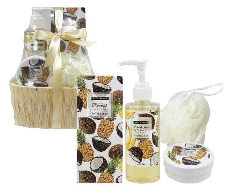 37772-BATH SET 4pc 2AST SCENTS/SET0