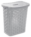 [354051] 61719-STERILITE #1276 WEAVE LAUNDRY HAMPER CEMENT
