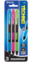 [373242] 752-BAZIC Techno 0.7 mm Mechanical Pencil (3/Pack)