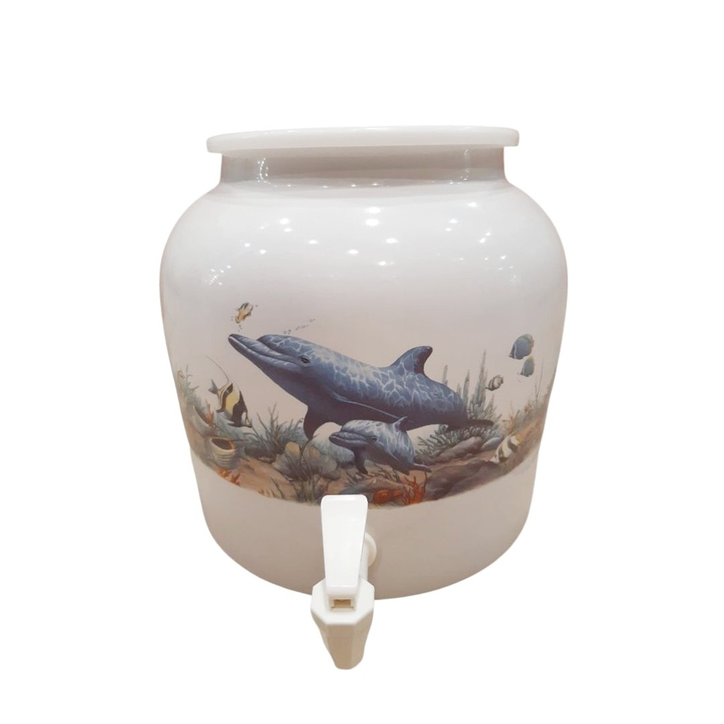 DD418-DOLPHIN BABY 2.5G PORCELAIN DISPENSER