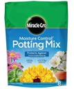 Miracle-Gro Moisture Control Potting Mix,8-Quart