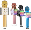 X0027J58T1 BLUEFIRE WIRELESS 4 IN 1 BT KARAOKE MICROPHONE W/LED LIGHT