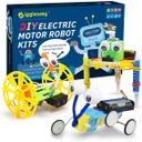 [428133] GW-3SETS2 GIGGLEWAY ELECTRIC MOTOR ROBOTIC SCIENCE DIY STEM TOYS FOR KID BUILDING SCIENCE EXPERIMENT KITS