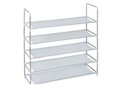 [288633] 11574-SHOE RACK 35.5H 5TIER GREY