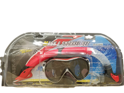 [319297] MS-7 CLASSIC SILICONE MASK & SNORKEL SET W/PVC BLISTER CARD