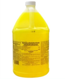 [403127] 91401-LEMON DISINFECTANT NEUTRAL CLEANER-64 1 GAL