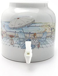[408036] DD390-UNFORGETTABLE VACATION 2.5 PORCELAIN DISPENSER