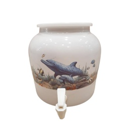 [408024] DD418-DOLPHIN BABY 2.5G PORCELAIN DISPENSER