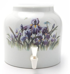 [408023] DD421-PURPLE IRIS 2.5G PORCELAIN DISPENSER