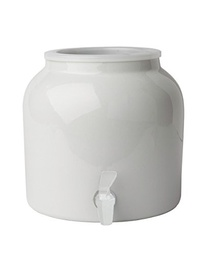 [408022] DW141-PLAIN WHITE 2.5G PORCELAIN DISPENSER