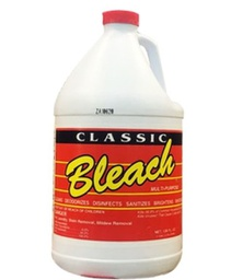[409695] G2760002-02161/02141 BLEACH 6% 128oz. CLEAR CLASSIC