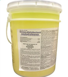 [407807] 91105-LEMON DISINFECTANT NEUTRAL CLEANER 5 GAL