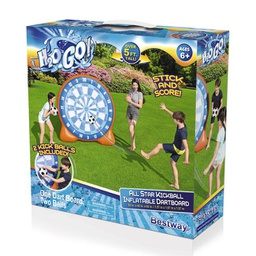 [407847] 52307E H20GO All Star Kickball Inflatable Dartboard