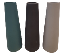 [414042] FV-DM8077-3 (L) CERAMIC VASE