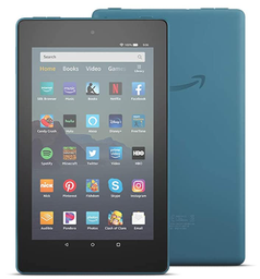 "[416305] B07WQ1VH72-All-New Fire HD 8 Tablet 8"" HD display 32 gb designed for portable Enterainment Twilight Blue"