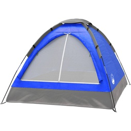 [417580] 1003186493-Wakeman Outdoors 2 Person Blue Dome Tent w/Carry Bag