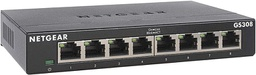 [417602] NETGEAR 8-Port Gigabit Ethernet Unmanaged Switch GS308 Home Network Hub
