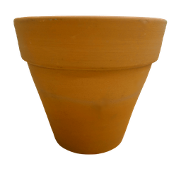 [420320] FP-R15(D-15cm/H-13cm) RED FLOWER POT