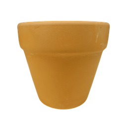 [420322] FP-R12(D-12cm/H-10cm) RED FLOWER POT