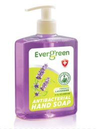 [422370] EverGreen Lavender Antibacterial Hand Soap 12x17 fl oz. Bottle w/ Pump