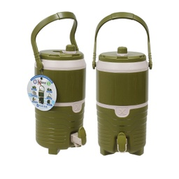 [422784] 46817-WATER JUG 142oz. GREEN/TAN INSULATED