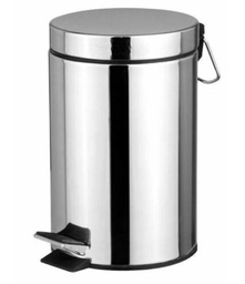 [424938] 20L stainless trash can